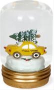 Glas-Schneekugel - White Christmas