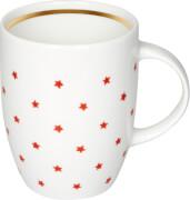 Geschenkset Tasse & Tee ''Rote Sterne''  E