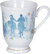 Porzellan-Tasse Aschenbrödel (mit Echt-Gold-Druck)