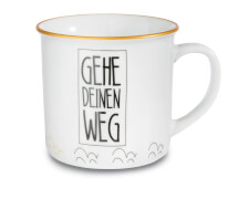 Tasse Gehe Deinen Weg (Metallic)