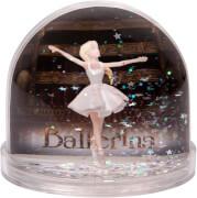 Schneekugel Sterne Photo Ballerina©