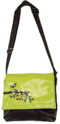 Crossbag Cherry Tree lime Green