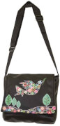 Crossbag Peace Dove black