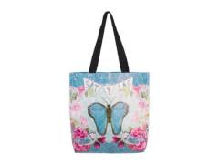 bb Klostermann Schultertasche Butterfly Style, Polyurethan