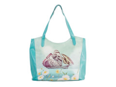Tote bag Butterfly Boat PU, 100% Polyurethan