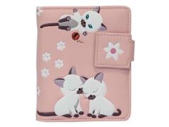 Geldbörse Katzen rosa