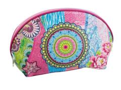 Mandala Garden Kosmetikt. blau-pink