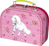 Die Spiegelburg 15311 Mein kleiner Ponyhof - Spielkoffer (gestickte Ponys)