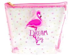 TT Kosmetiktasche mit Flamingo