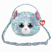 TY Whimsy,Katze Paill. Schultertasche