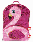 TY GILDA FLAMINGO SQUARE BACK PACK - SEQ