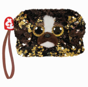 TY BRUTUS DOG SQUARE WRISTLET - SEQUINED
