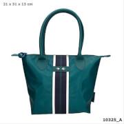 Depesche 10325 Trend LOVE Handtasche dunkelgrün