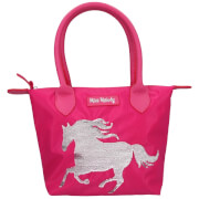 Depesche 10607 Miss Melody Handtasche Pailletten, Pink
