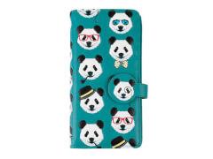 Langbörsen nM Pandaköpfe blau