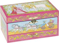 GoKi Musikspieldose Pferd mit Schublade