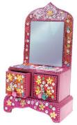 Schmuckkommödchen mit Spiegel 4 Designs