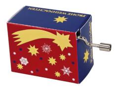 fridolin - Weihnachtsspieluhr - Jingle Bells, mit Goldprägung