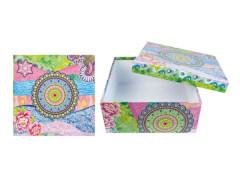 Mandala Garden Box blau-pink