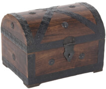 Piraten-Schatztruhe 28 cm