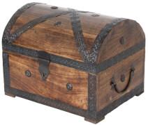 Piraten-Schatztruhe 32 cm mit Griffen