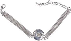 Button UP Armband Metall 1 Button (4)