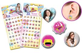 Soy Luna Sticker Earrings