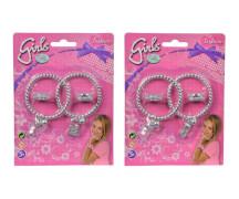 Simba Steffi Love Girls  Ring- und Armreif Set, 2- sortiert.