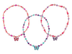 Kette Schmetterling 3 Farben