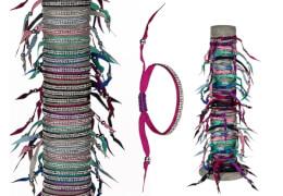 Textil-Haarband/Armband Fashion