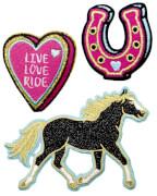 Die Spiegelburg 15221 I LOVE HORSES - Sticker-Patches