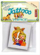 Mini-Tattoo-Set Pferd Mein Ponyhof 24-teilig