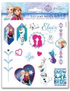 Disney Frozen - Die Eiskönigin Tattoos Mega-Set Craze