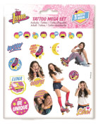 Soy Luna Tattoos Mega-Set