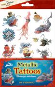 Metallic Tattoos  Capt'n Sharky