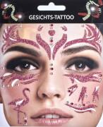 Glitter-Tattoo Flamingo