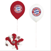 FC Bayern München Luftballons rot / weiß