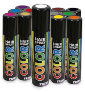 Hair-Color-Spray, farblich sortiert, 100 ml