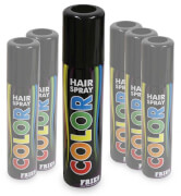 FRIES - Hair-Color-Spray schwarz, 100 ml