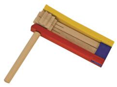 Holzratsche, ca. 16 cm