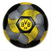 BVB Fußball, ca. 18x18x18 cm, PVC, Carbon-Muster, ab 3 Jahren.
