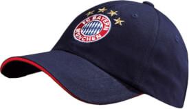FC Bayern Baseballcap Logo navy
