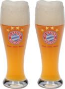 FC Bayern Weißbierglas 2er Set