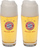 FC Bayern Halbeglas 2er Set