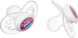 FC Bayern Schnuller 2er Set 6-16 Monate