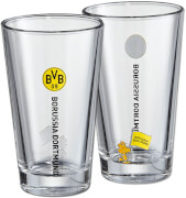 BVB-Wasserglas Snoopy 2er Set