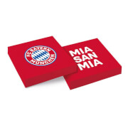 20 Servietten FC Bayern München 33 x 33 cm