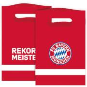 8 Papiertüten FC Bayern München 15,8 x 23,6 cm