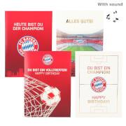 FC Bayern München Soundkarte im Display
