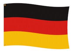 Amscan Fahne Deutschland, ca. 90x150 cm